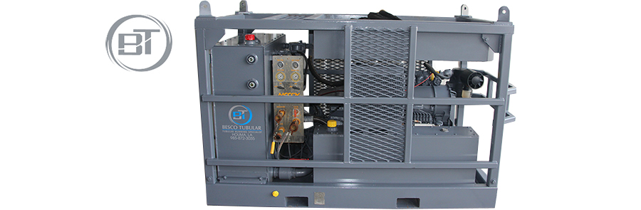 Hydraulic Power Unit used by Besco Tubular Inc Land and Offshore